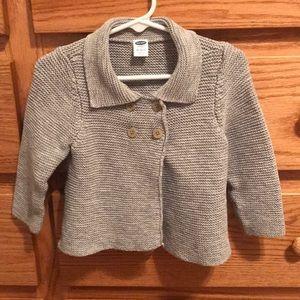 Baby cardigan sweater